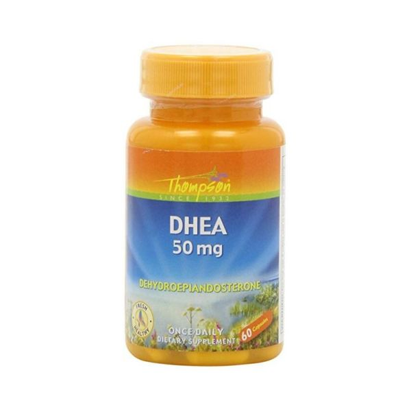 Thompson DHEA 50mg – 60 Capsules –
