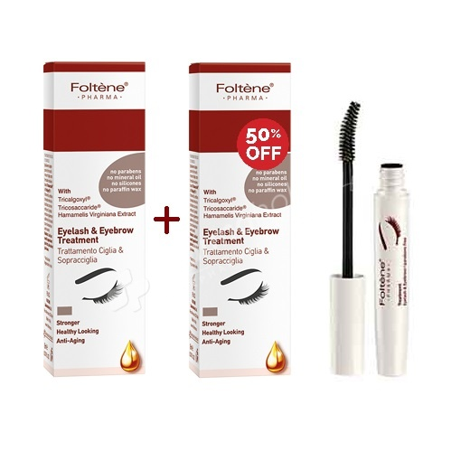 SPECIAL OFFER: BUY 1 Foltene Eyelash and Eyebrow Treatment -8ml- & GET 50% OFF THE SECOND