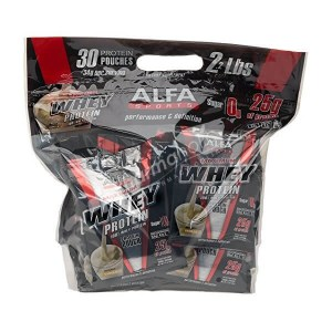 Alfa Maximum Whey Protein Vanilla Flavor 30 pouches
