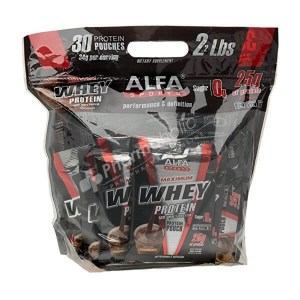 Alfa Maximum Whey Protein Chocolate Flavor 30 pouches