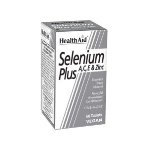Selenium Plus A, C, E, ZINC – 60 Tablets –