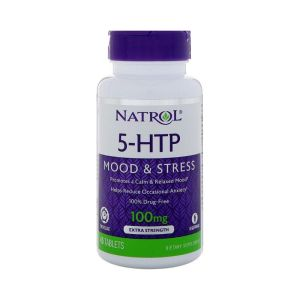 Natrol 5HTP Mood & Stress Release – 45 Tablets –