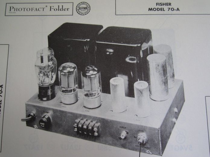 fisher 70a oldschematic