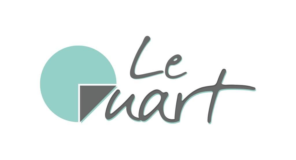 Création du logo pour la socété Le Quart