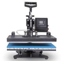 VEVOR Heat Presses 12 X 15 Inch 5 in 1 Digital Multifunctional Sublimation T Shirt Heat Press Machine