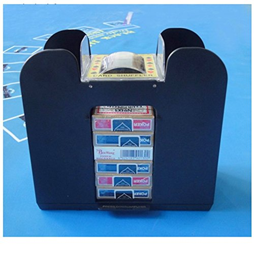 Card Shuffler Automatic 6 Deck Automatic Machine Poker Casino Dealer Electric
