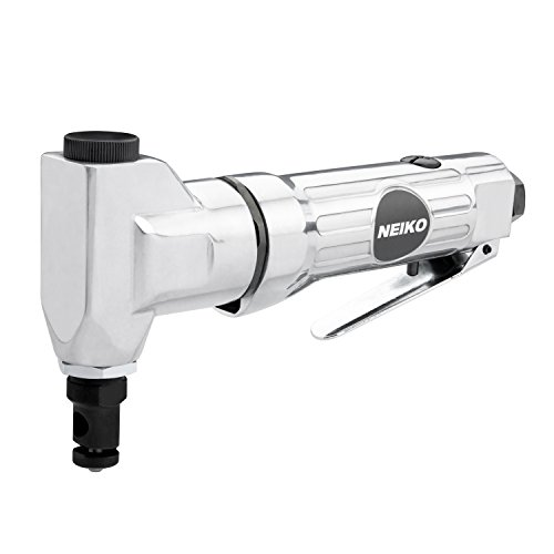 "Neiko 30067A Pull Type Pneumatic Nibbler | 1/4"" NPT Air Inlet | 4 CFM, 90 PSI | 3500 RPM"
