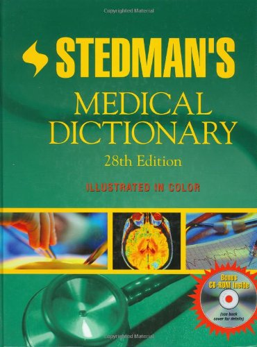 Stedman's Medical Dictionary Twenty-Eighth Edition