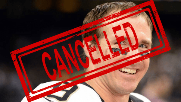 Drew Brees CAVES to the Mob