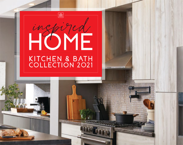 Kitchen renovation ideas, tips and advice in the Inspired Home look book for kitchens and bathrooms.