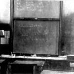 Ben Davis's classroom, July 1921 (photo SJ Olivier)