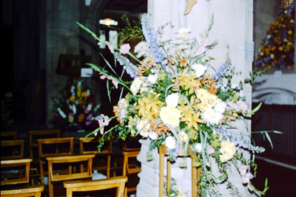 MillHill - Mill-Hill-1980-04-St-Michaels-Flower-Festival.jpg