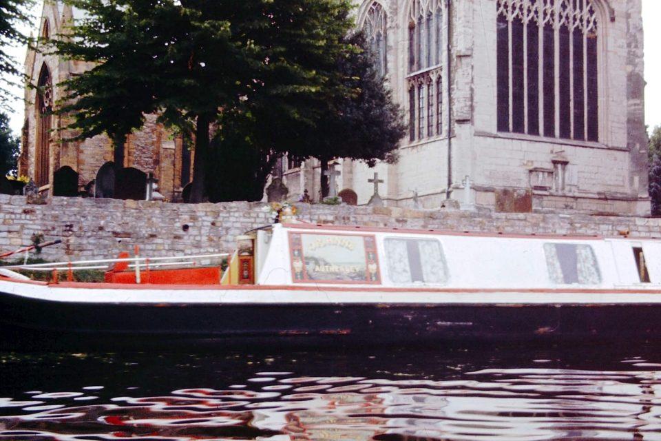 Stratford - Stratford-1964-08-Longboat-Trinity-Church.jpg