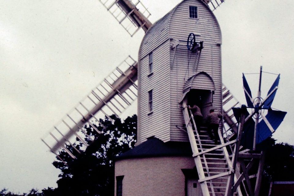 Suffolk - Suffolk-10-1968-Saxtead-Green-Post-Mill.jpg