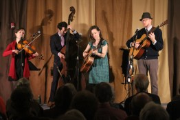 Low Lily perform at Old Songs. See them again at the 2018 Festival.
