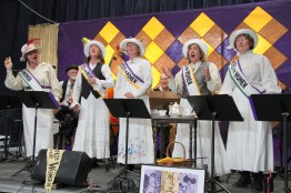 "Old Songs celebrates 100 years of Women's Suffrage in New York State with ""Forward into Light""."