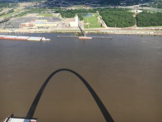 View over the Mississippi River