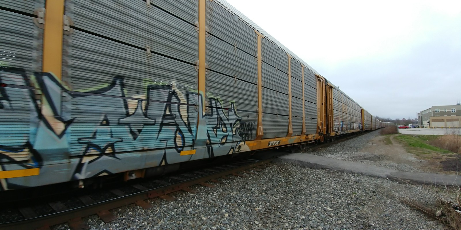 old southside 2017 great indy cleanup train
