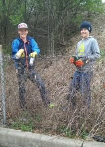 old southside 2017 great indy cleanup kids volunteer