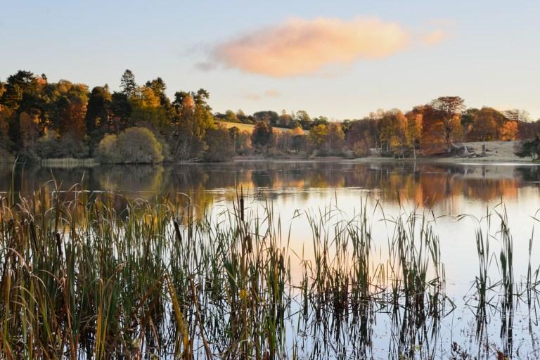 Autumn Loch Monzievaird, Crieff
