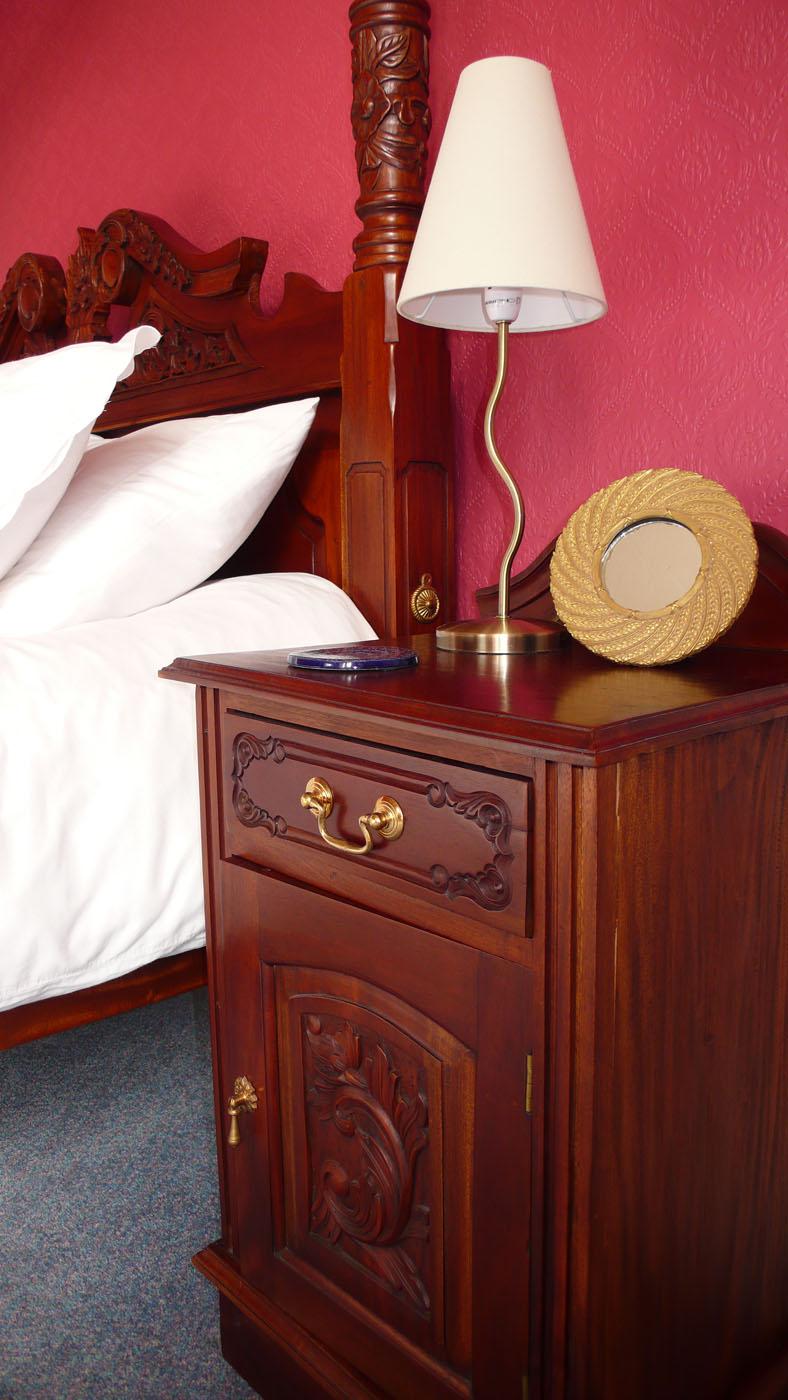 Bedside Cabinet, Master Bedroom, Old St. Michaels, Crieff