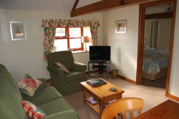 Upper Henmoor sitting room