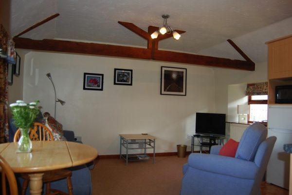 Upper Dovehouse sitting room / diner