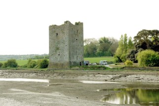 Belvelly Castle in County Cork, old stone castle for sale in Ireland, Irish, 13th century