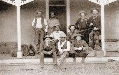 WS Ranch outlaw cowboys, Cimarron, New Mexico