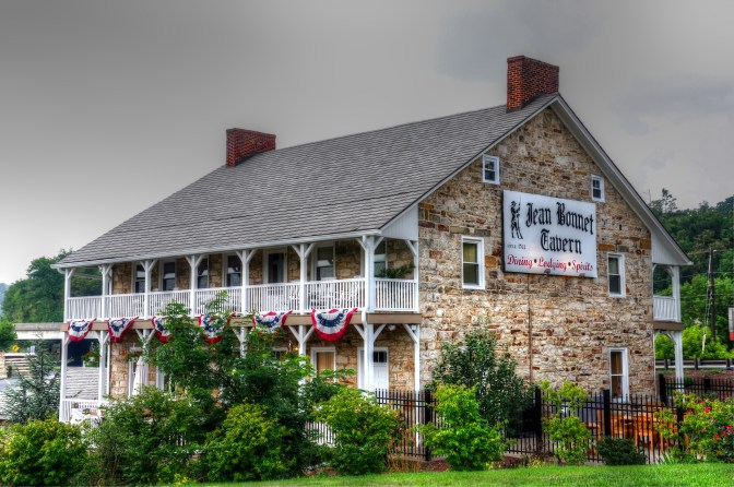 Jean Bonnet Tavern, old stone tavern, old stone home, old stone houses, real-life haunted houses, Pennsylvania, haunted houses in Pennsylvania