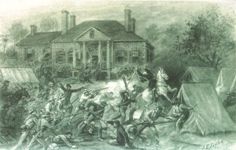 Battle of Belle Grove, Virginia