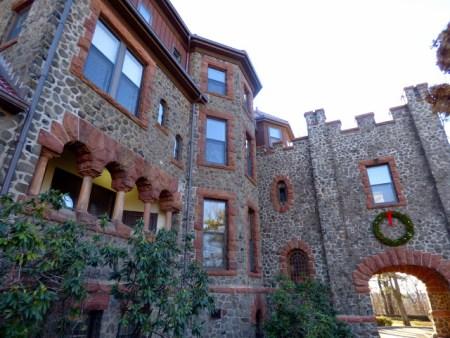 Kip's Castle, New Jersey, holiday home tour, Christmas home tour, old stone home, old stone house, old stone castle