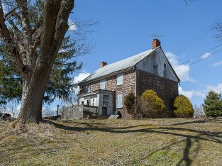 Frenchtown, New Jersey, Stone Farmhouse, old stone houses, old stone homes for sale, historic preservation, masonry, fixer upper for sale, 80 acres, Bucks County