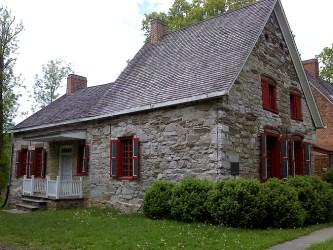 Pieter Bronck House, Cocksackie New York, old stone house, old stone home, masonry, fieldstone, historic homes, Jonas Bronck, Bronx, oldest homes in the US