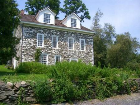 Catskills Stone Farmhouse, old stone homes, old stone houses, vacation homes, historic properties, New York