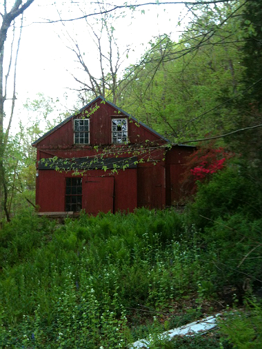 Marshal Family Property, Red Barn, Erwinna, Pennsylvania, old stone homes for sale, old stone houses for sale, Delaware River, Delaware Canal, stone ruins, old stone barns