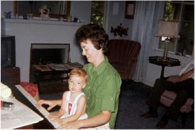 Judy and niece Renie Lites-1963