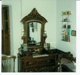 The dresser in Jessie's bedroom