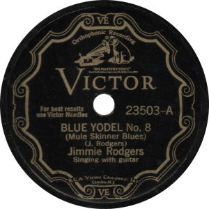 Blue Yodel No. 8 (Mule Skinner Blues), recorded