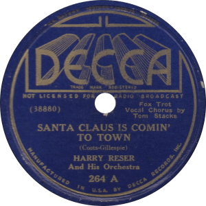 Santa Claus is Comin' to Town, recorded