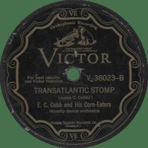 Transatlantic Stomp, recorded