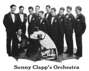 Sunny Clapp's band, during their tenure with Victor. From 1930 Victor catalog.
