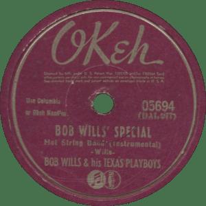 Bob Wills' Special