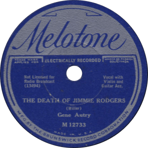 The Death of Jimmie Rodgers