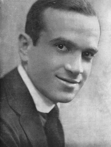"Al Jolson, circa 1920. From ""Swanee"" sheet music cover."