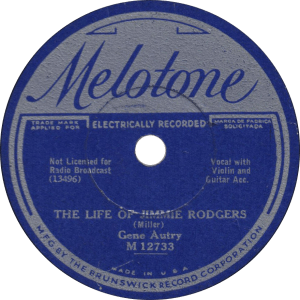 The Life of Jimmie Rodgers