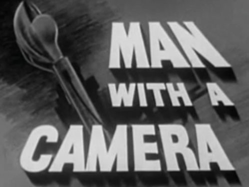 Man With A Camera 20 - The Positive Negative - 1959