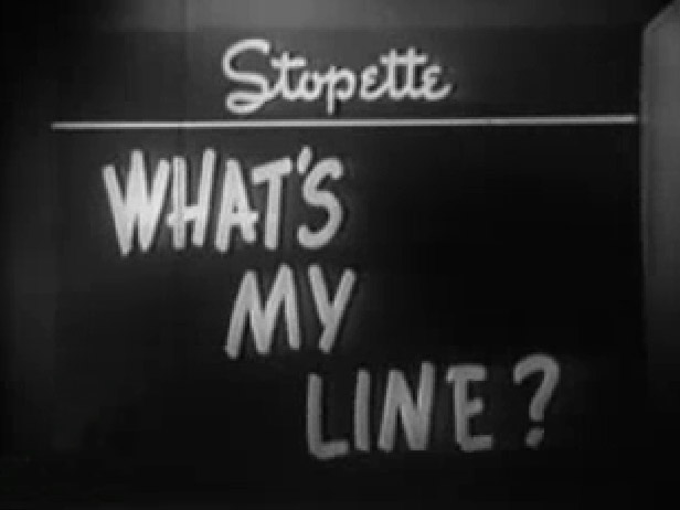 What's My Line - Guest Star Bette Davis