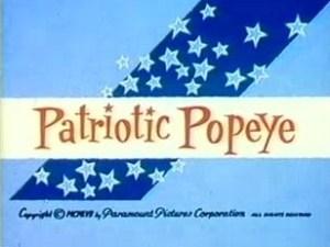 Popeye – Patriotic Popeye