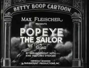 Popeye with Betty Boop